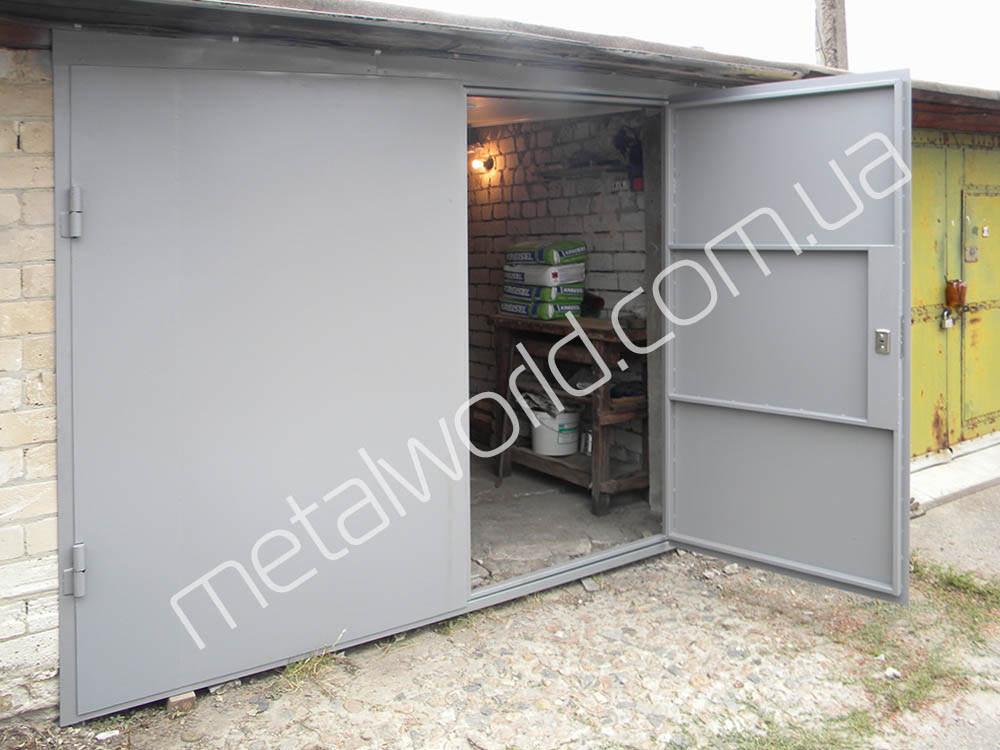Металлические ворота для металлического гаража гараж в пензе купить