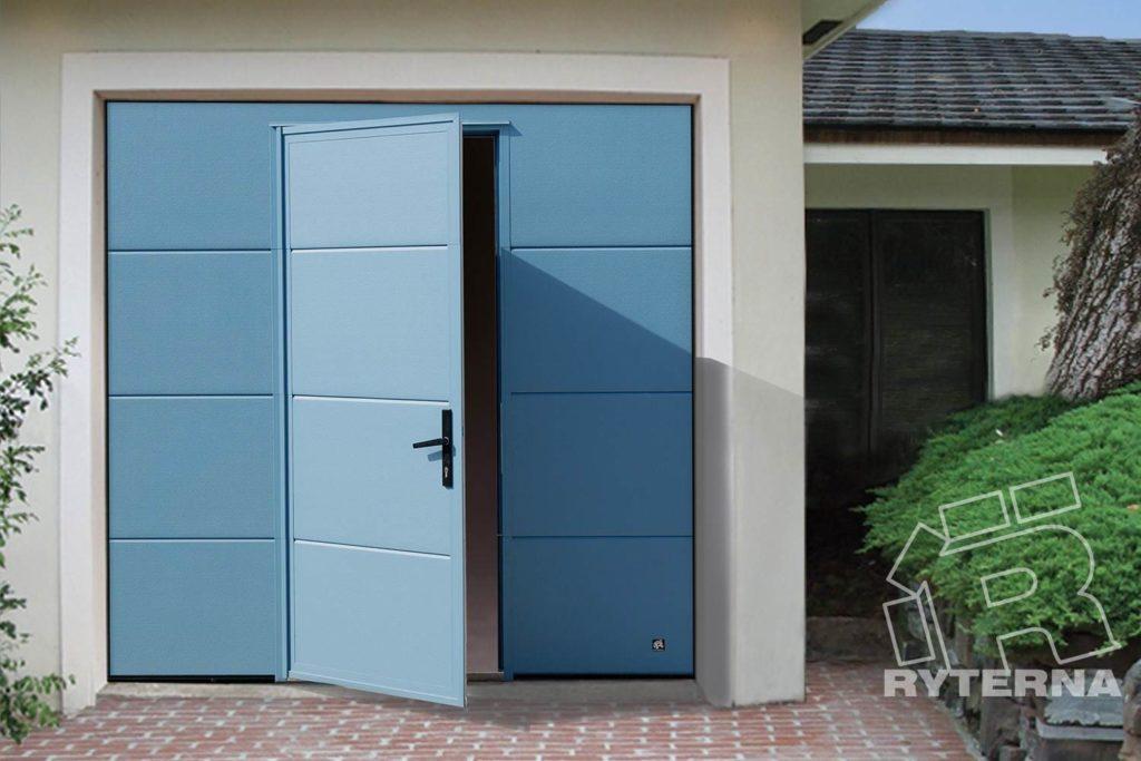 Cекционные ворота для гаража RYTERNA