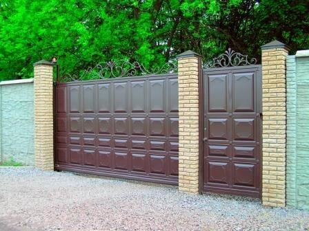 Изготавливаем филенчатые откатные ворота