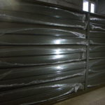 Ворота из металлического сайдинга в Харькове